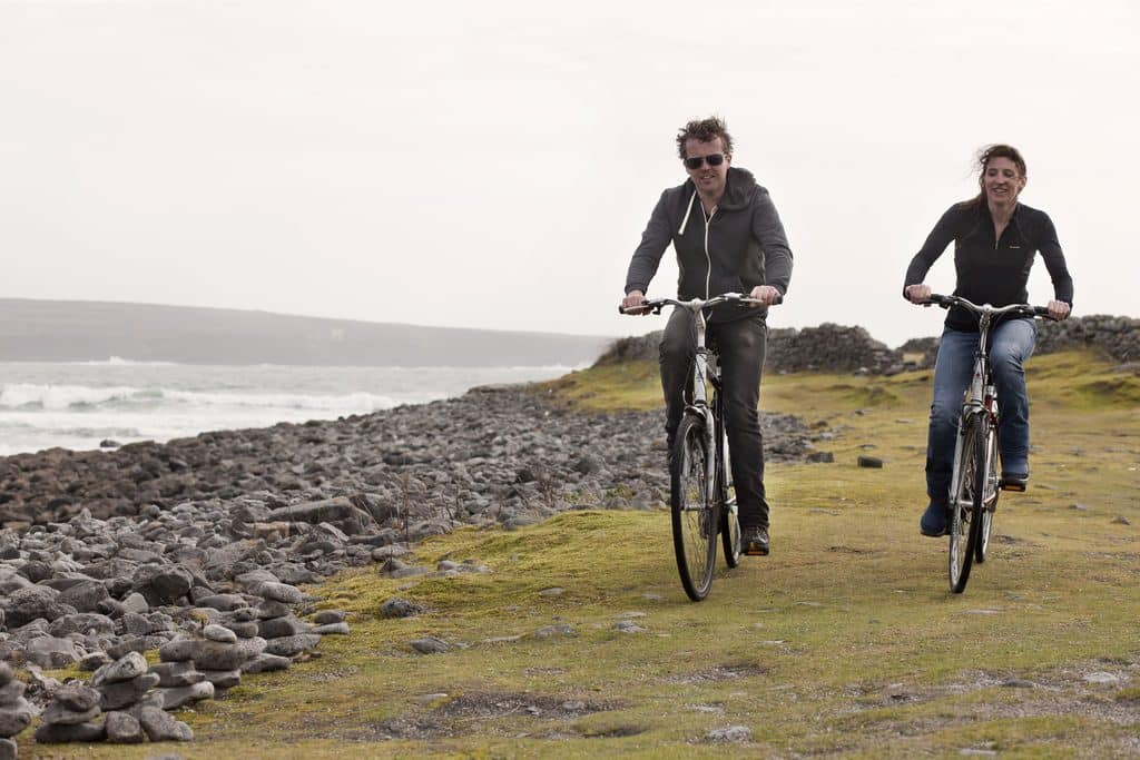 Explore Inishmore by bike or foot