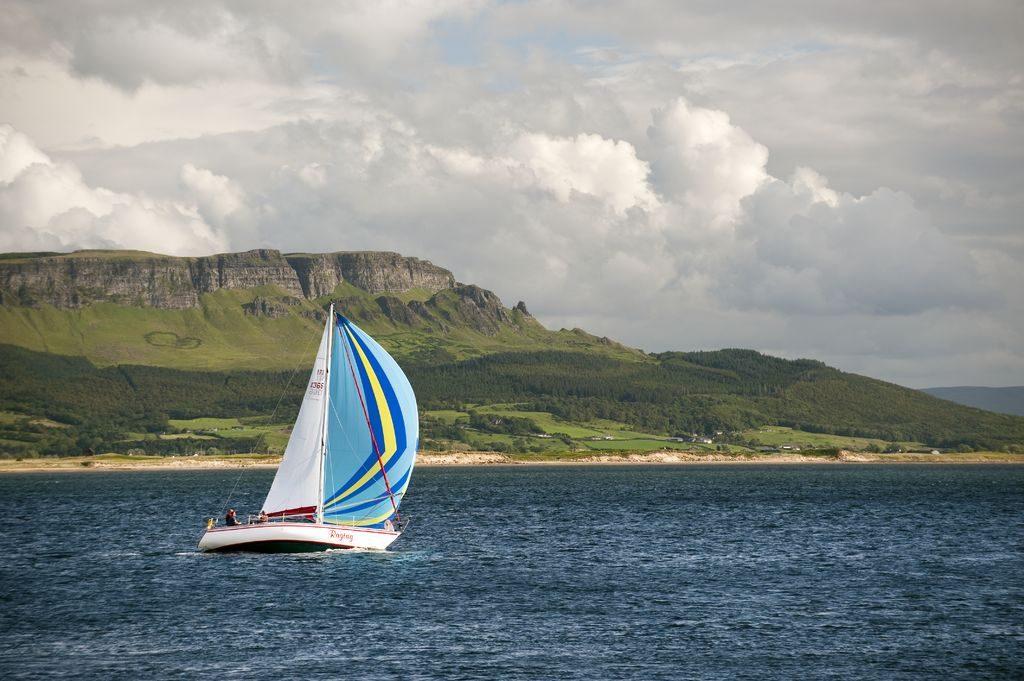 Sailing is one of the top 10 outdoor activities in Ireland