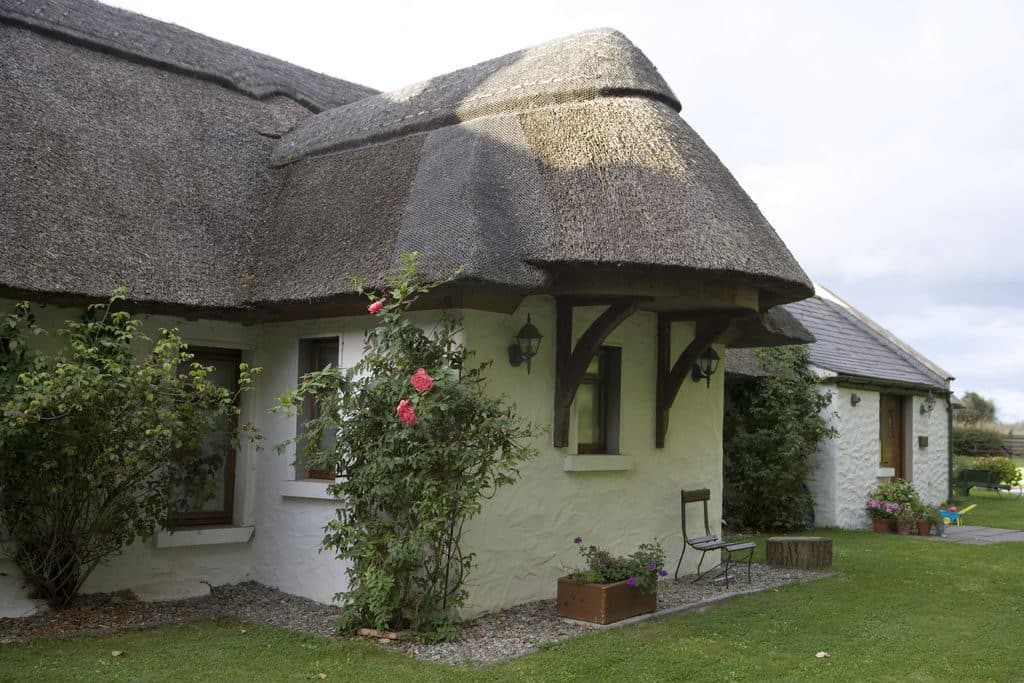 One of the top Irish blessings blesses a person's cottage