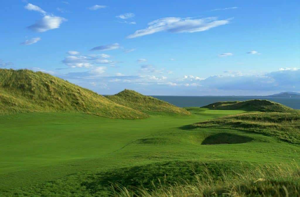 The European Golf Club in Wicklow provides beautiful scenery to golfers
