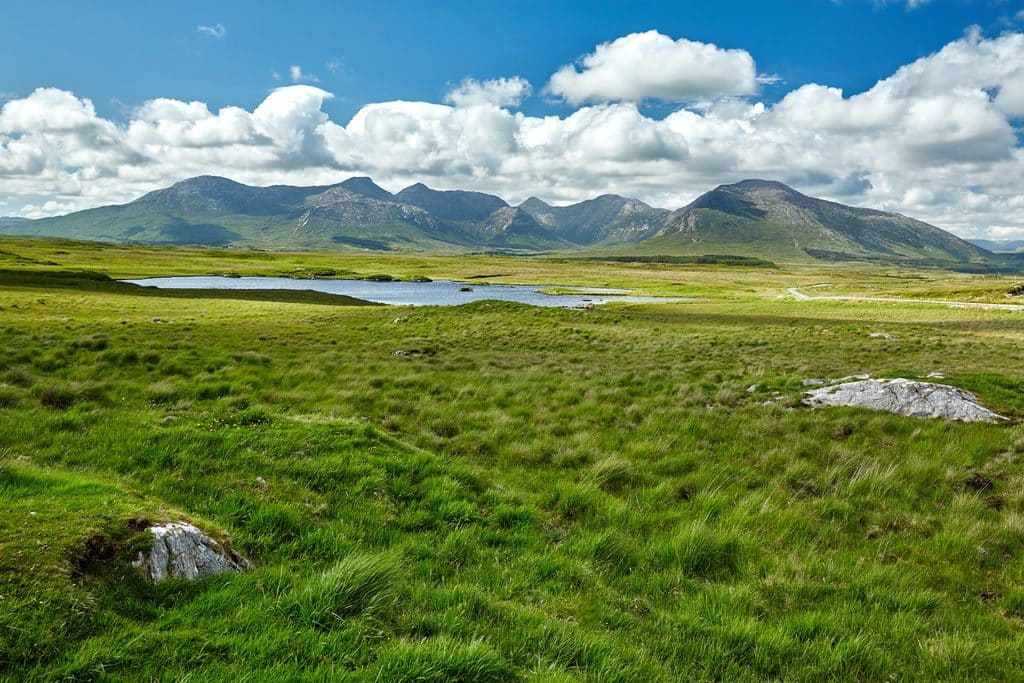The Twelve Pins are one of the most stunning land formations in Ireland