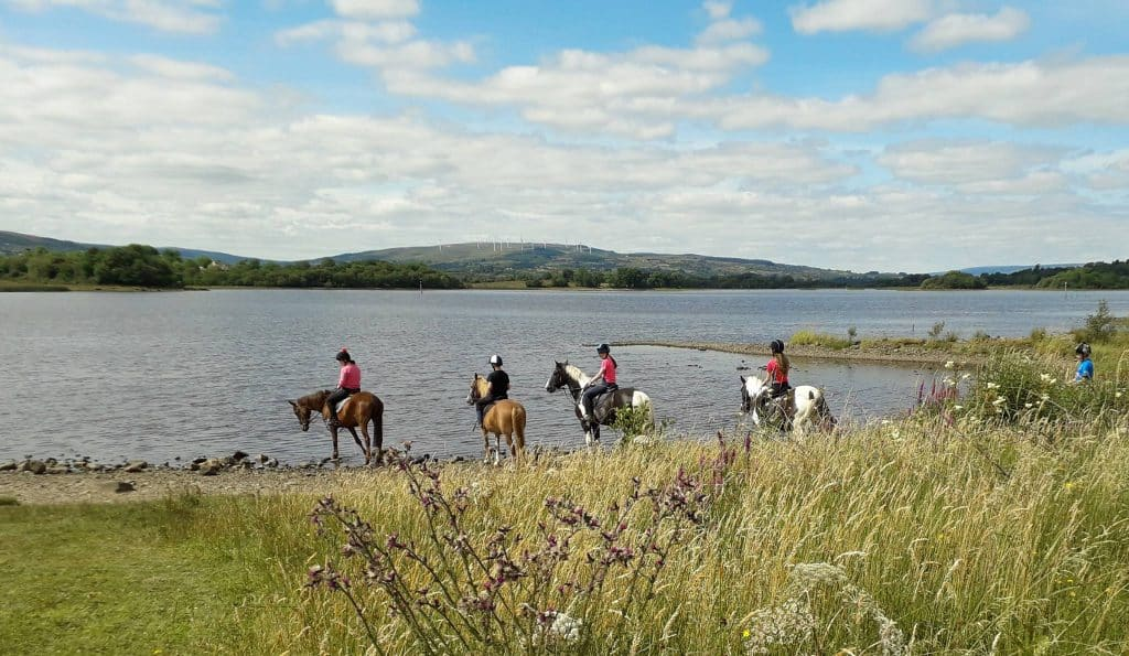 Moorlands Equestrian Centre in Leitrim is perfect for horse lovers