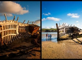 Plans to replace a landmark shipwreck in Donegal have been revealed