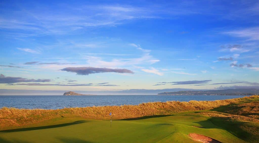 Portmarnock Golf Club is one of the top 10 scenic golf courses in Ireland