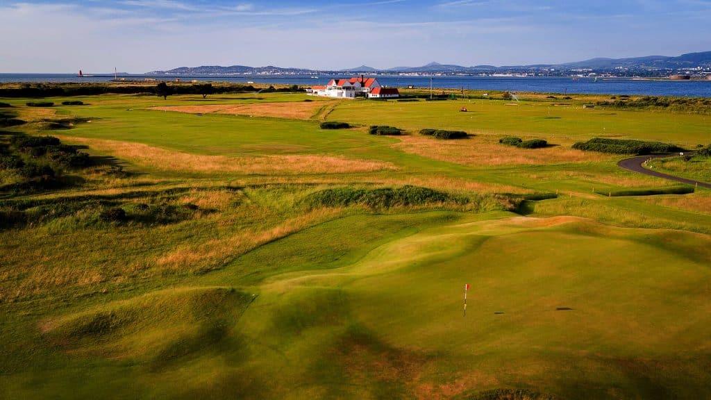 Royal Dublin Golf Club provides beautiful scenery to golfers