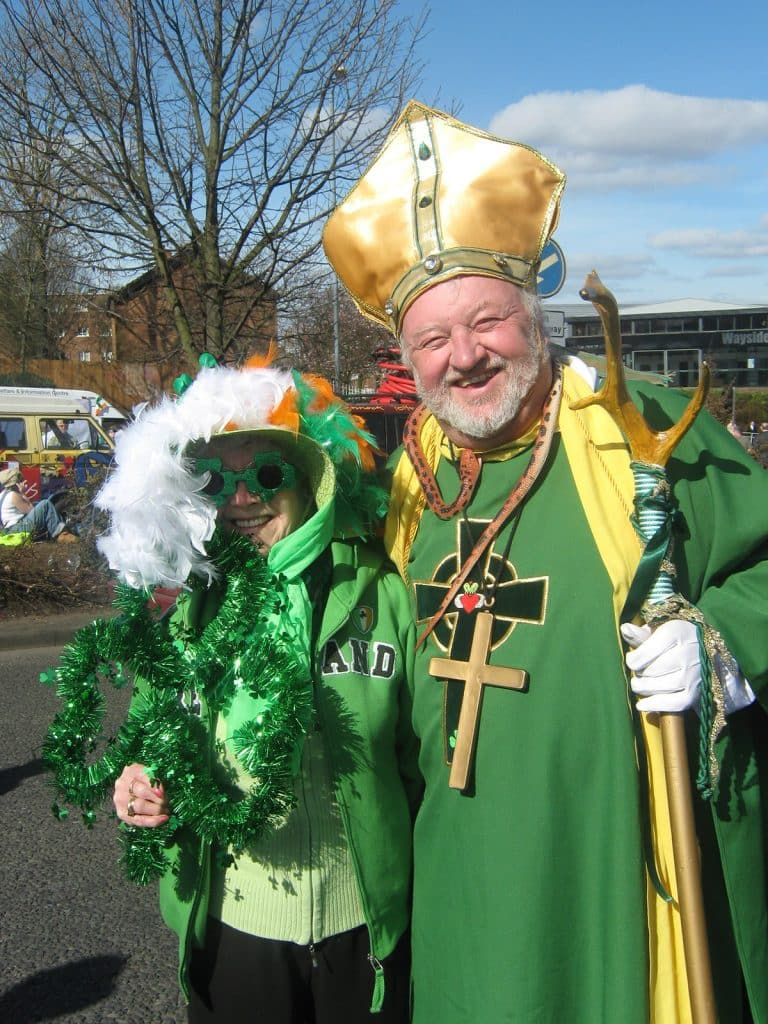 Saint Patrick is one of our top 10 quintessentially Irish Halloween costume ideas
