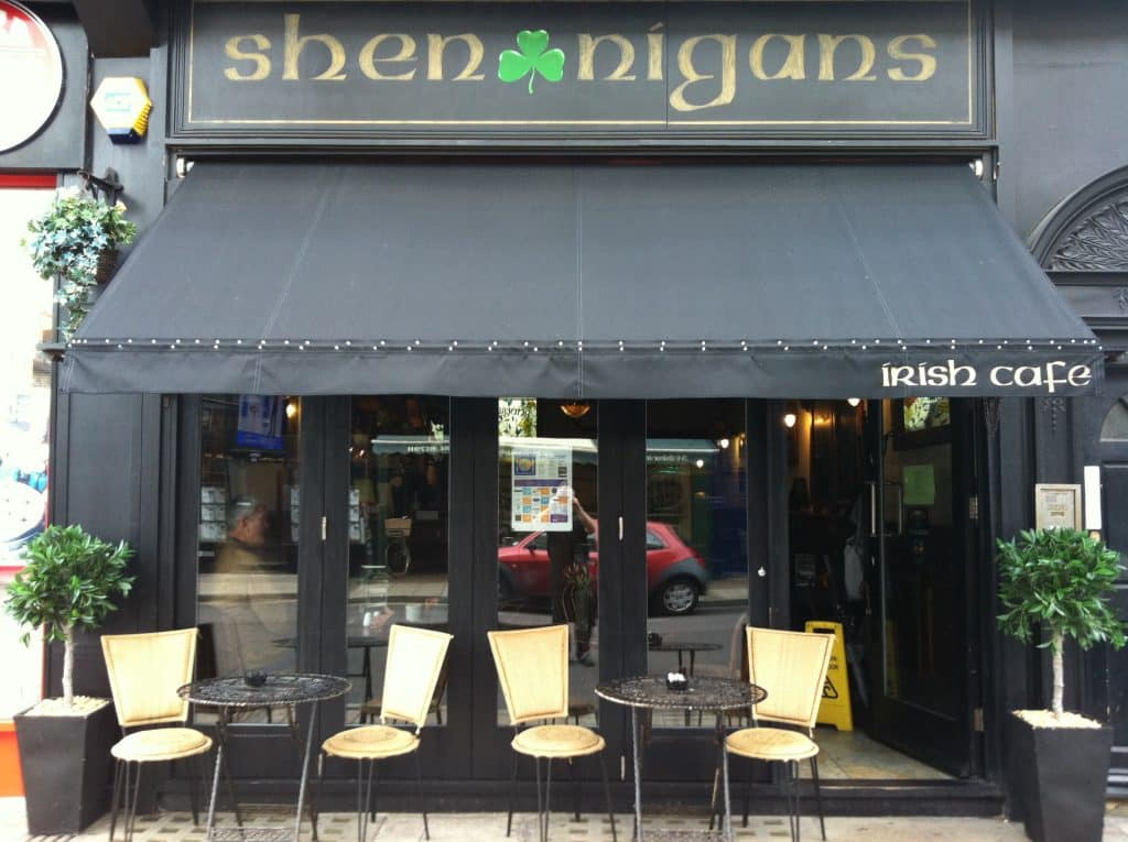 Shenanigans in Southsea is one of the 10 best Irish pubs in England