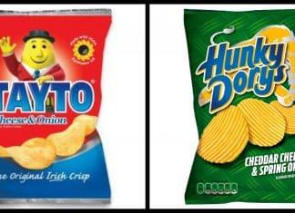 Tayto versus Hunky Dorys: battle of the Irish crisp brands