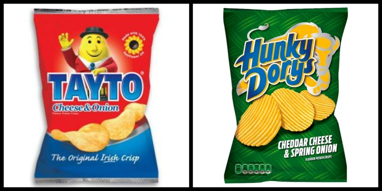 Tayto versus Hunky Dorys: battle of the Irish crisp brands