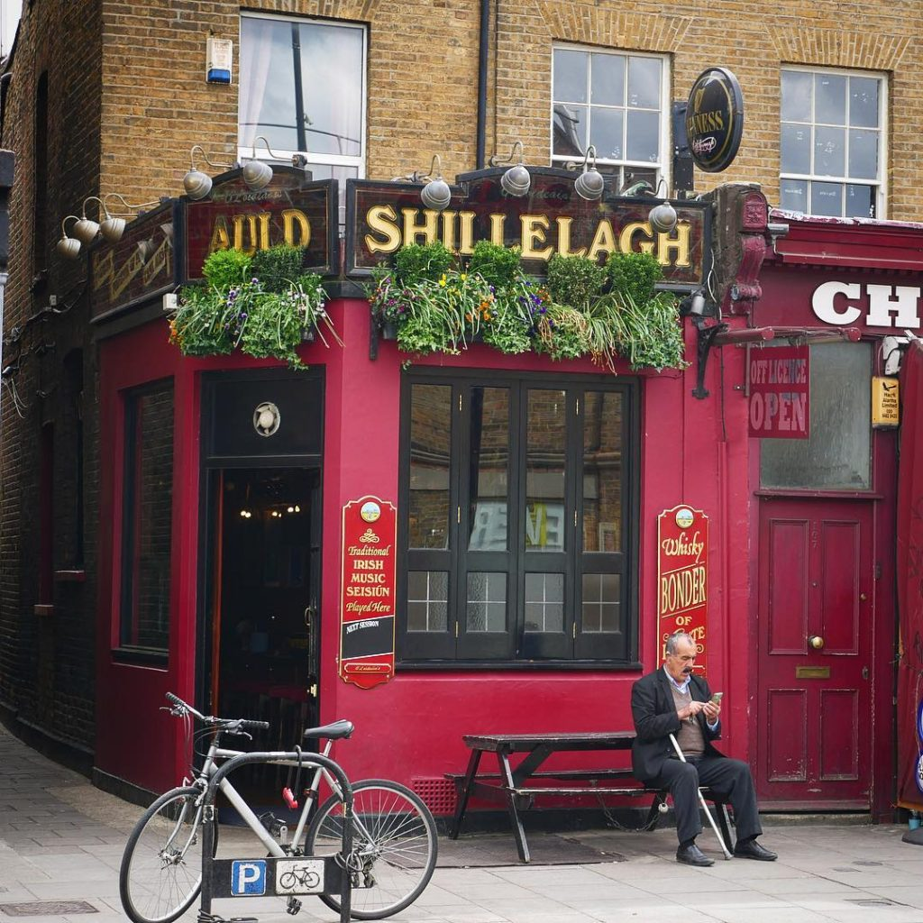 The Auld Shillelagh in London is one of the 10 best Irish pubs in England