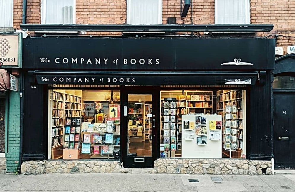 The Company of Books is one of the 5 cosiest bookshops in Dublin