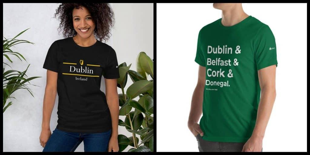 Top 10 cool Irish T-shirts and clothing