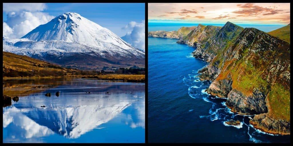 Top 10 most beautiful Irish mountains