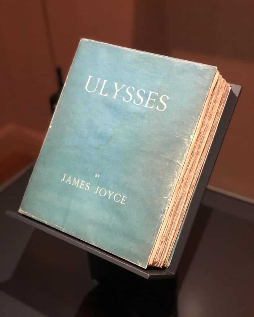 Uysses is another top read from the island of Ireland.