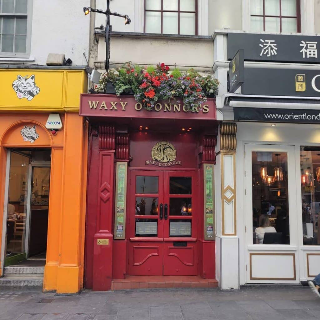 Waxy O'Connor's is a cosy spot in London