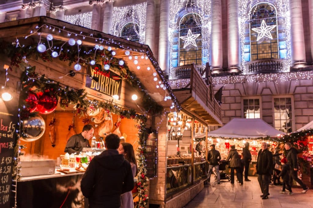 The Belfast Christmas Market is one of the best Christmas markets in Ireland this year