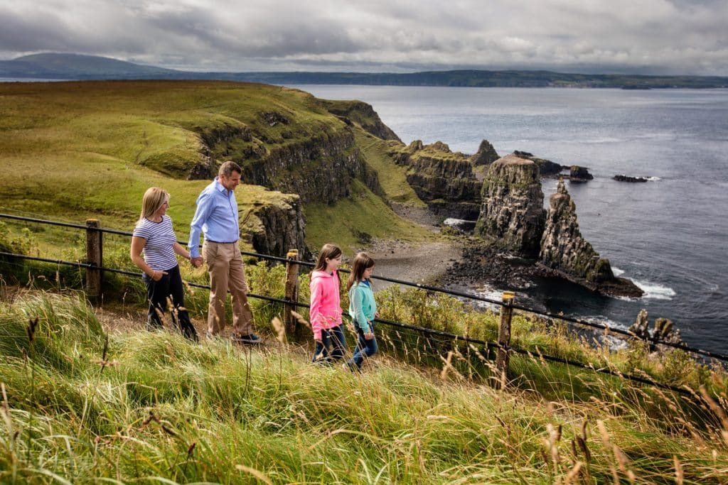 Rathlin Island is a beautiful tiny island just above Ireland.