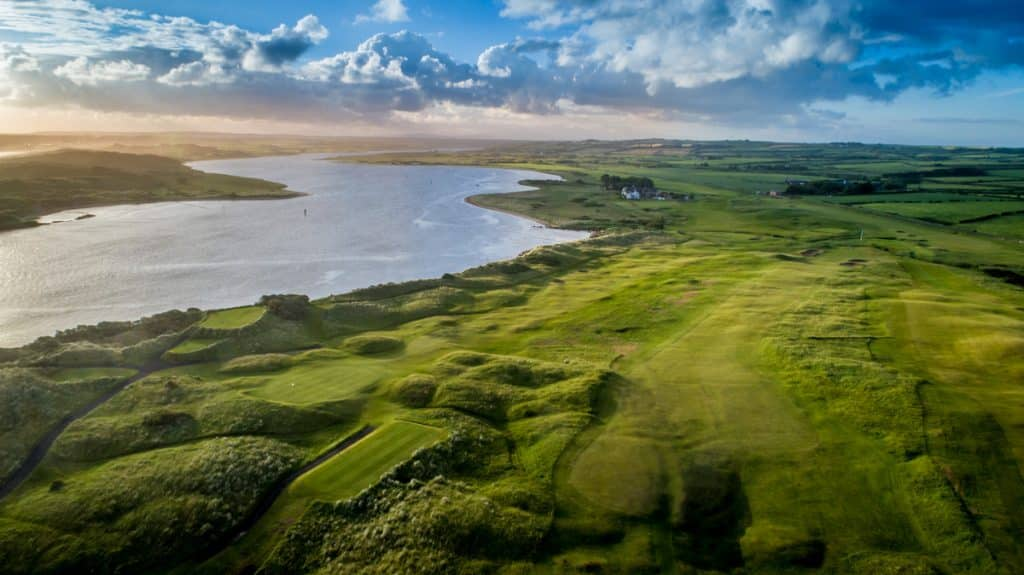 Castlerock Gofl Club is one of the top 10 highest-rated golf courses in Northern Ireland