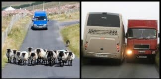 6 situations that only happen when driving in Ireland