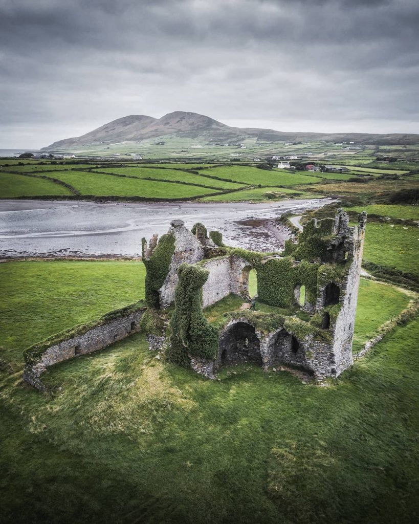 Ballycarbery Castle is one of the top 10 medieval ruins in Ireland