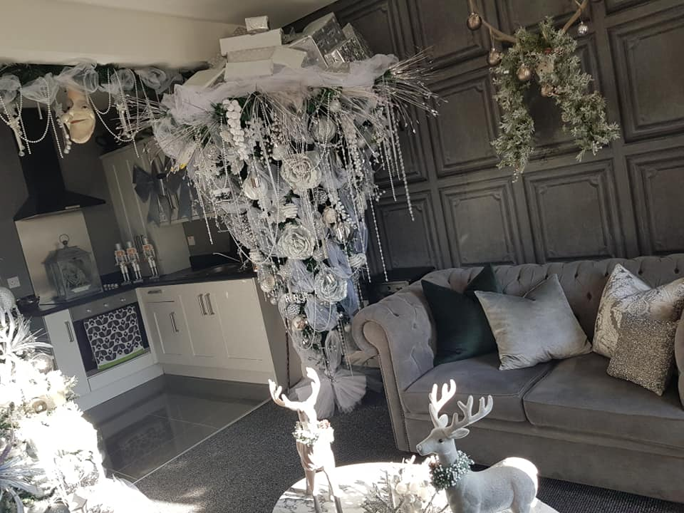 This Belfast house has been transformed into a Christmas wonderland