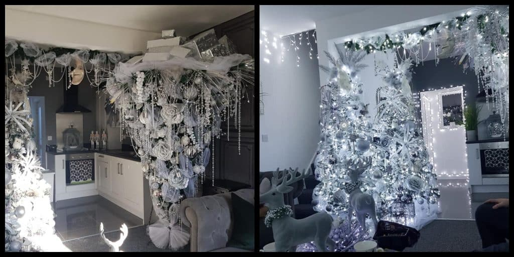 Belfast house makes headlines for its Christmas wonderland transformation