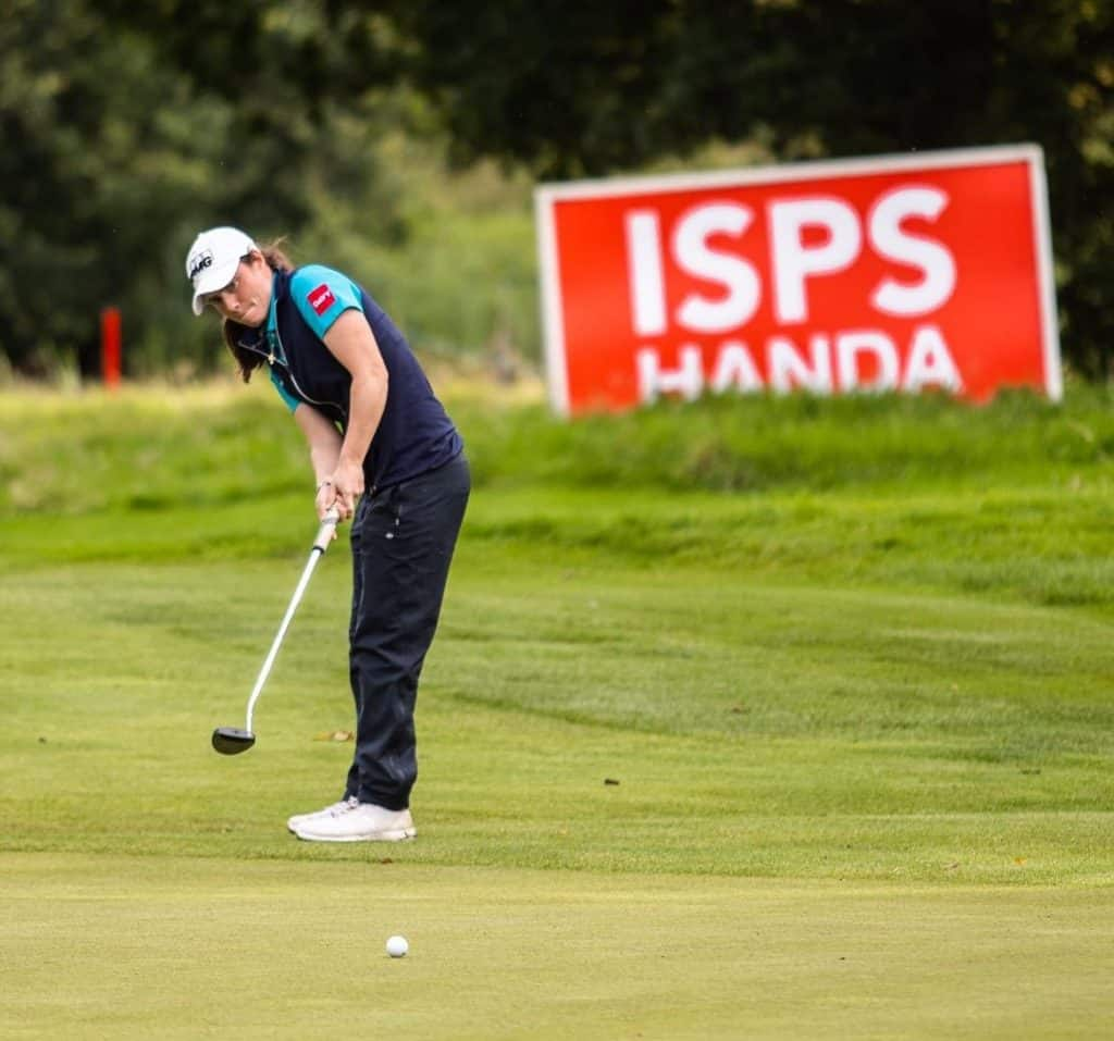 Leona Maguire is one of the biggest Irish sports stars from Ireland