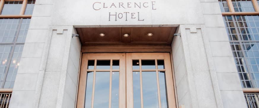 The Clarence Hotel is one of the 10 best hotels in Dublin city centre