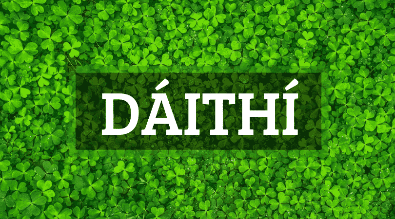 Daithi is one of the top 10 Irish boy names that nobody can pronounce