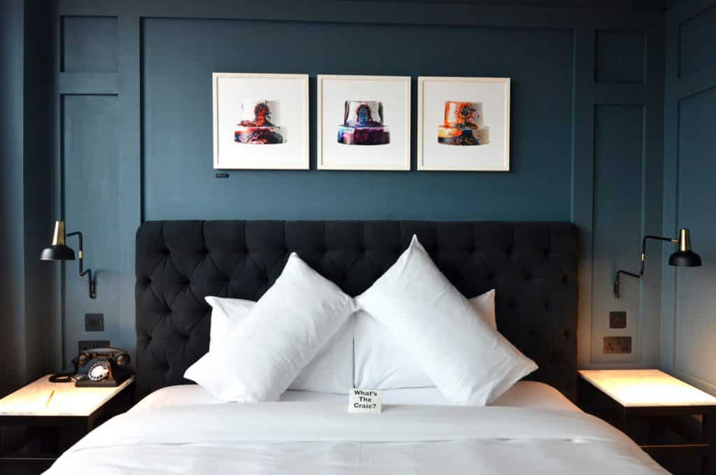 The Dean Hotel is one of the 10 best hotels in Dublin city centre