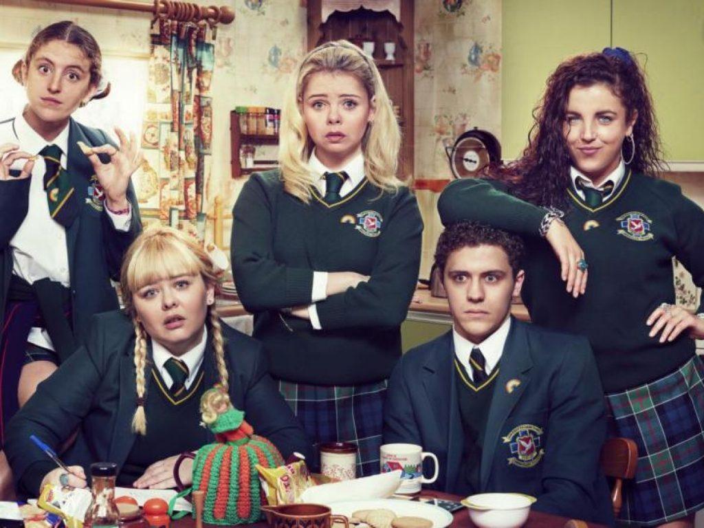 The Derry Girls cast