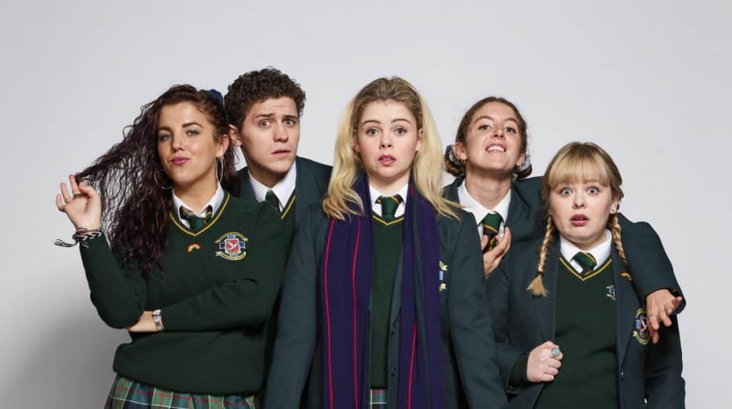 The cast of Derry Girls are split between being Derry natives and non-natives, almost an equal divide.