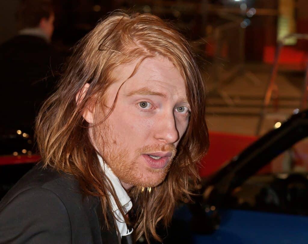 Actor Domhnall Gleeson.