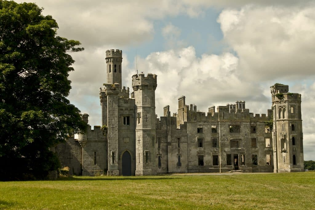 Duckett's Grove is supposedly haunted by a banshee making it one of the most widely regarded haunted places in Ireland.