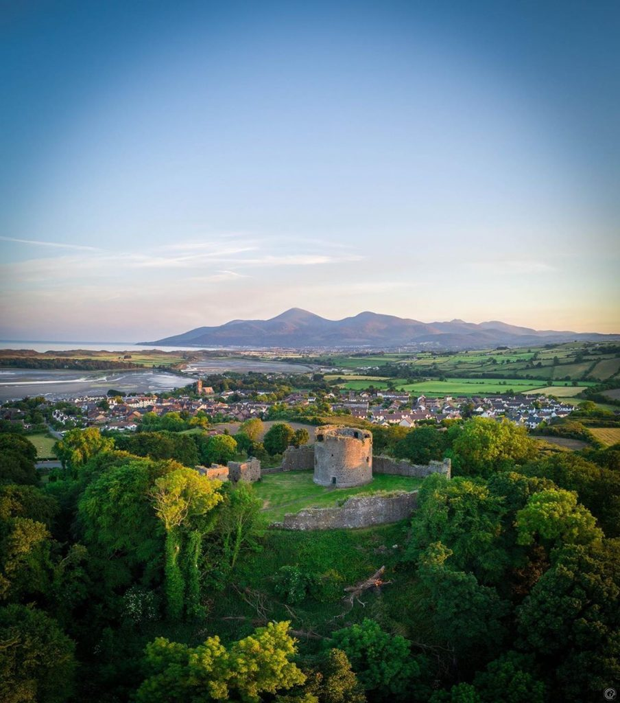 Dundrum Castle is one of five reasons to visit Dundrum in County Down