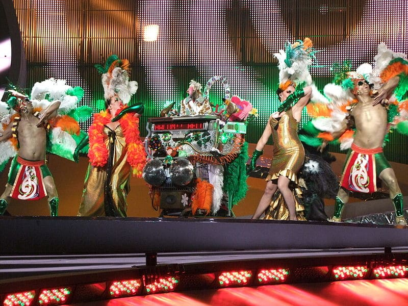 Ireland have won numerous Eurovision contests, proving the luck of the Irish.