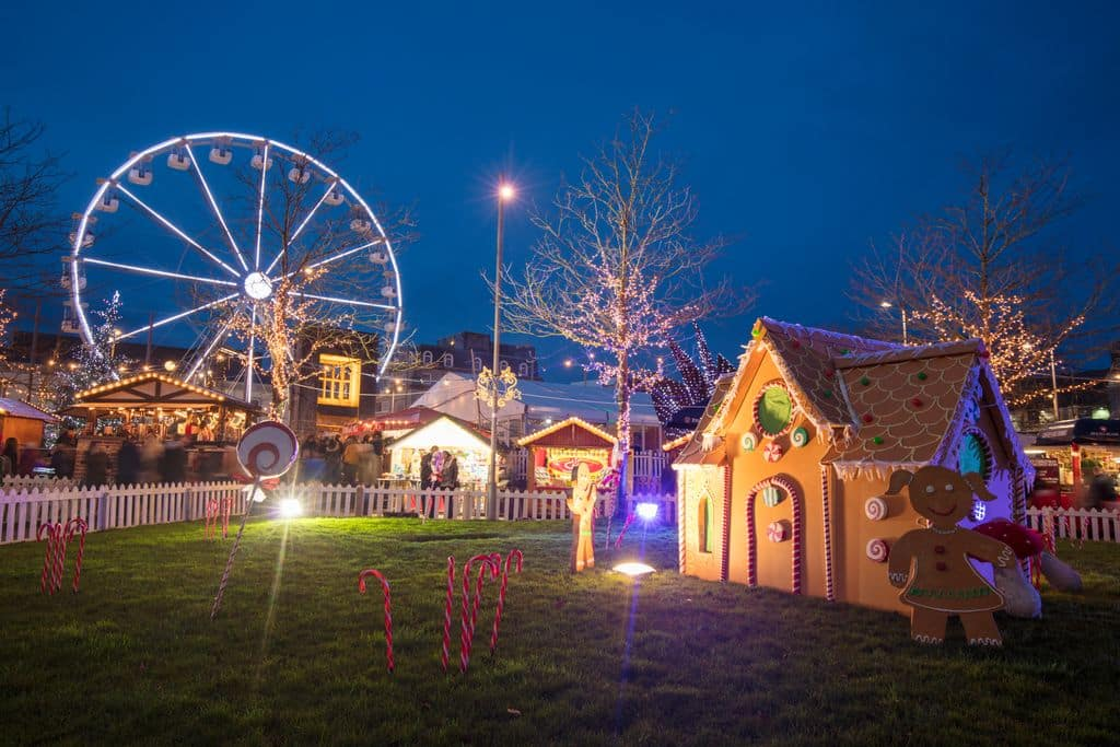 One of the best Christmas markets in Ireland can be found in Galway