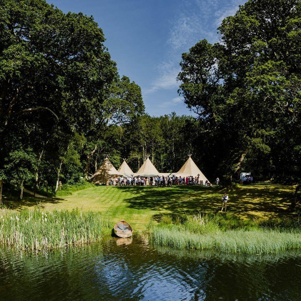 Finnebrogue Woods in County Down is a fantastic wedding venue