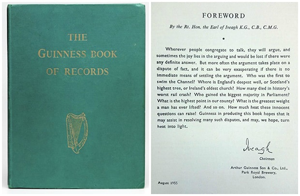 The first edition of the Guinness Book of World Records