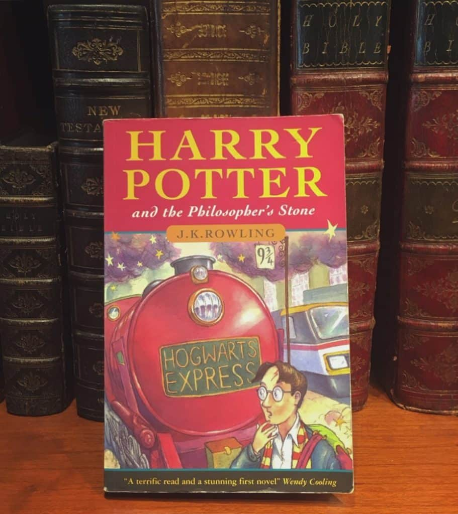 Harry Potter first editions will sell for a fortune now