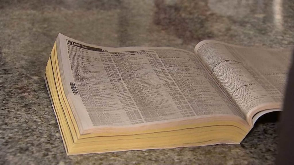 10 items you'll find in almost every Irish home include Yellow Pages phone books