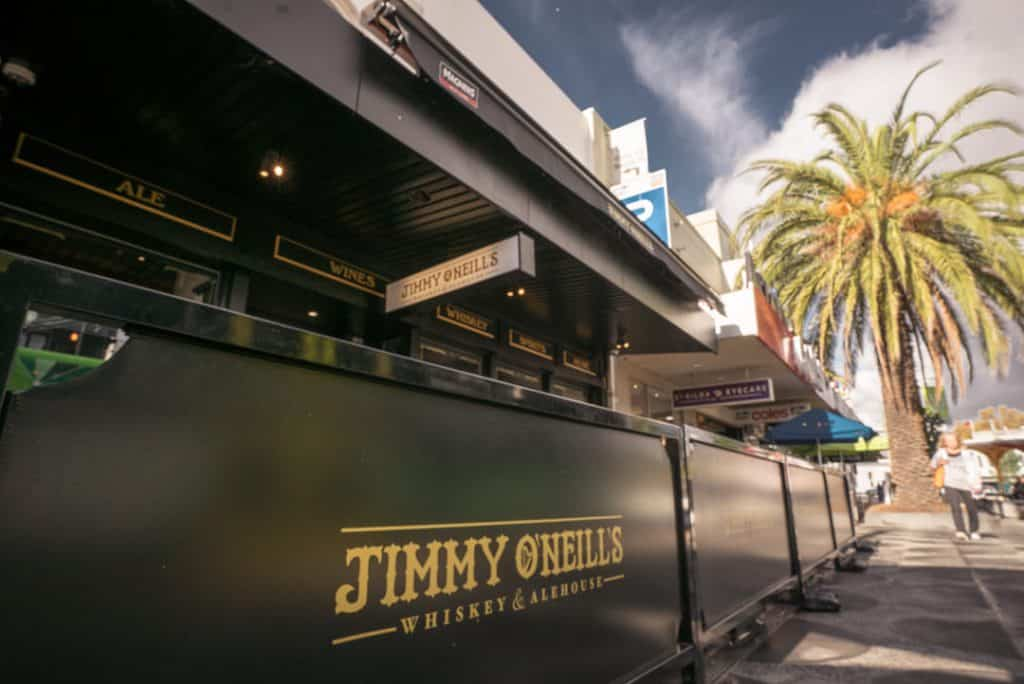 Jimmy O'Neill's is one of the top 10 Irish pubs in Melbourne