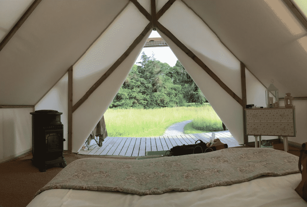 Killarney Glamping is a romantic getaway