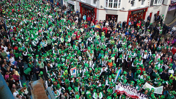 The largest gathering of leprechauns happened in Ireland