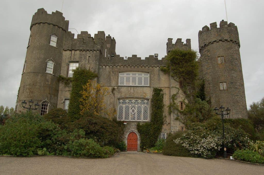 A jester's ghost is rumoured to haunt Malahide Castle. It's one of the most widely regarded haunted places in Ireland.