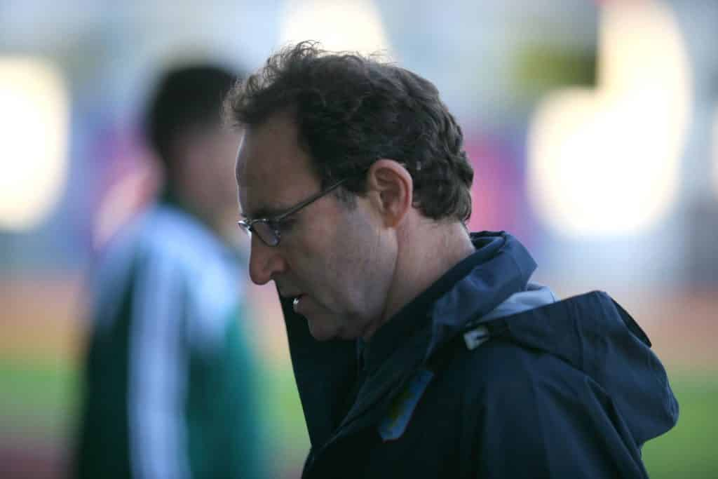 Martin O'Neill is one of the biggest Irish sports stars from Ireland