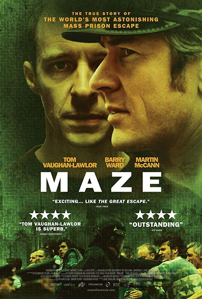 Maze makes the list for top 10 films about Irish history thanks to its gripping retelling of one of the world's biggest prison breaks.
