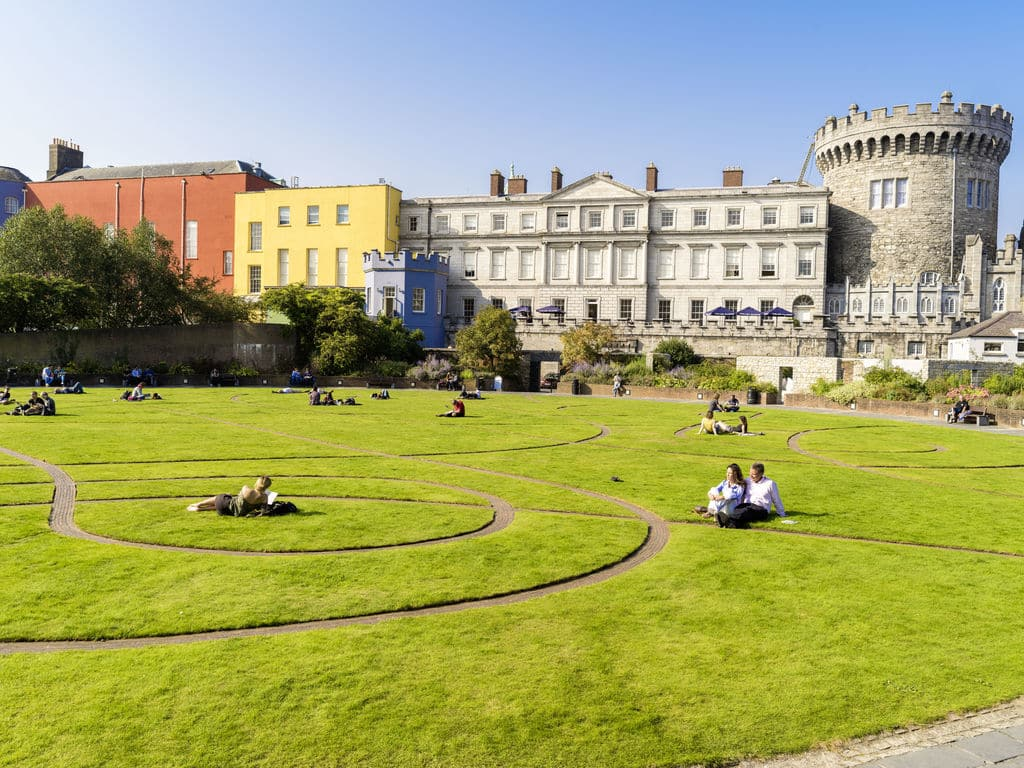 Dublin Castle is one of the top 10 famous landmarks in Dublin