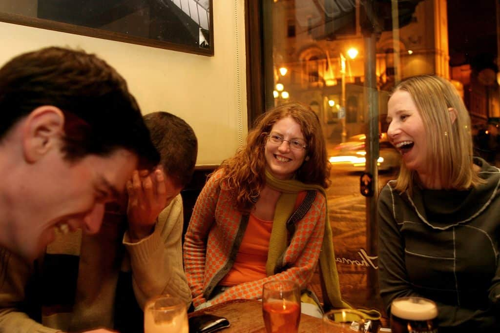 Dublin slang phrases are often part of the craic on out a night out in Dublin
