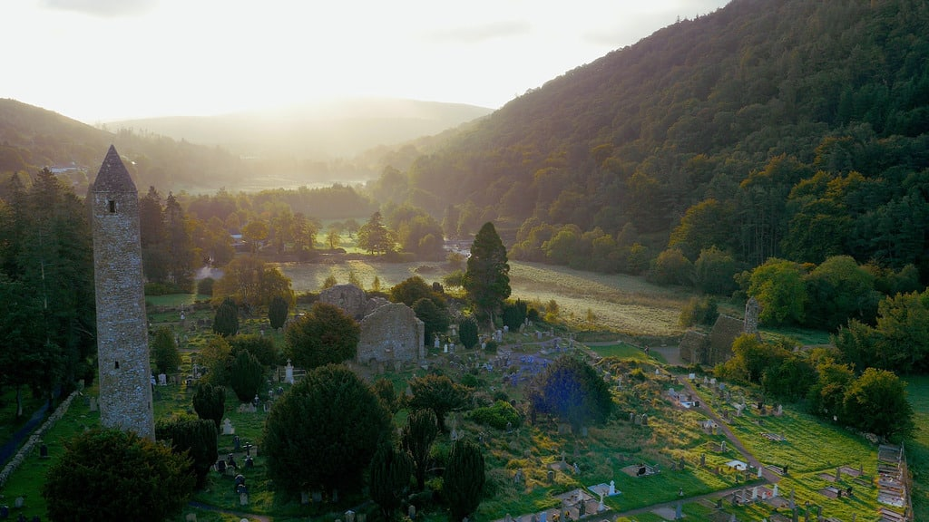 Glendalough is rich in history and one of the most peaceful and tranquil monasteries in the country.